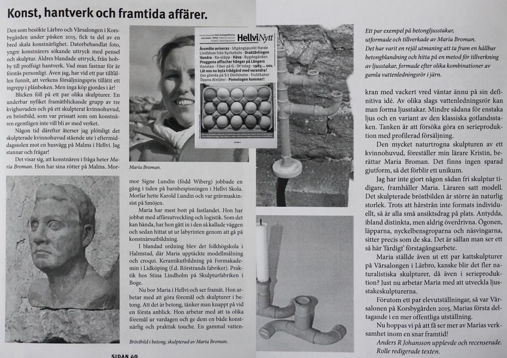 Hellvi Nytt Juni Midsommar 2015