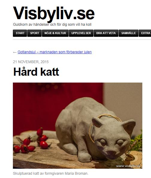 Visbyliv.se, 21 November 2015